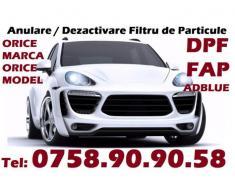 Anulare dezactivare DPF - FAP