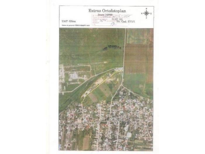 Ugent teren in comuna Glina strada Fermei - 1/1