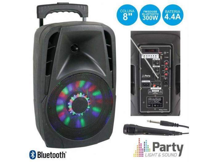 Boxa portabila Bluetooth 300W cu Radio FM,USB/SD - 2/3