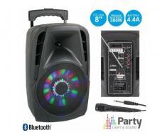 Boxa portabila Bluetooth 300W cu Radio FM,USB/SD - Poza 2/3