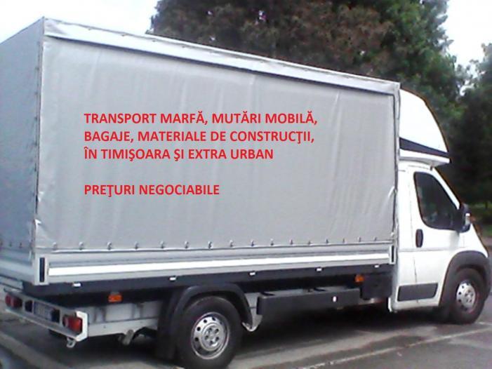 Transport marfa mutari bagaje diverse! - 1/3