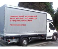 Transport marfa mutari bagaje diverse!