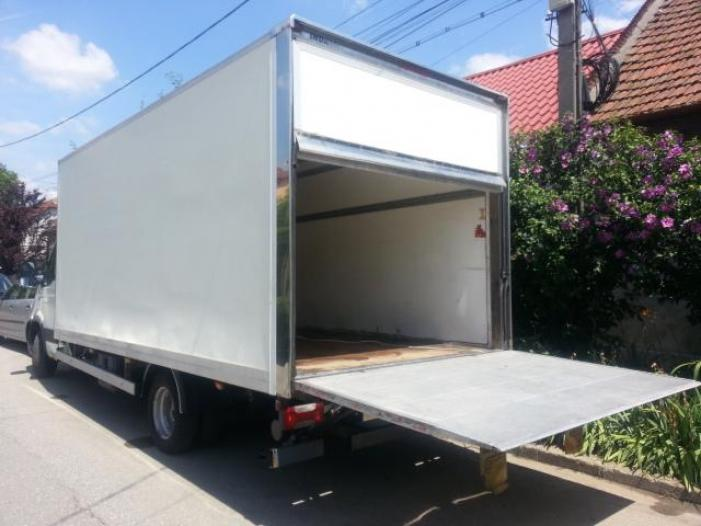 Transport marfa cu autotutilitara 3,5t ,22mc - 1/2