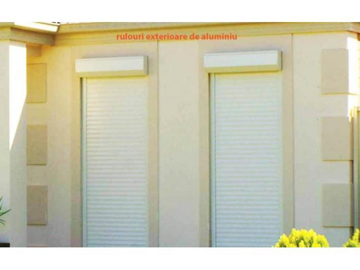 Jaluzele exterioare, jaluzele romane, rolete textile - 1/3