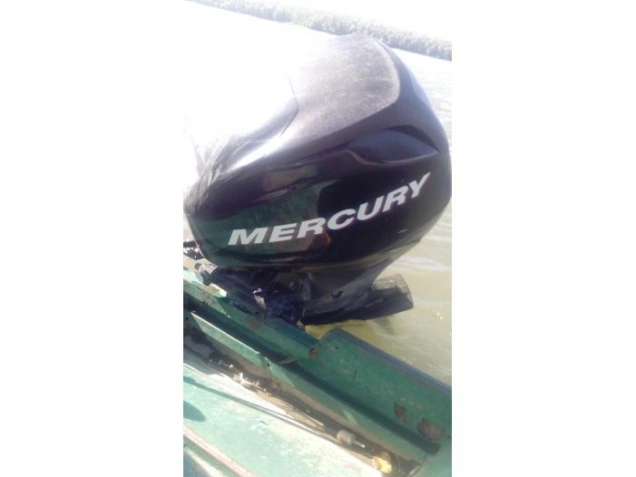 Motor de barca mercury fourstroke - 1/5