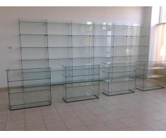 Rafturi sticla, tejghele,vitrine,rafturi depozitare