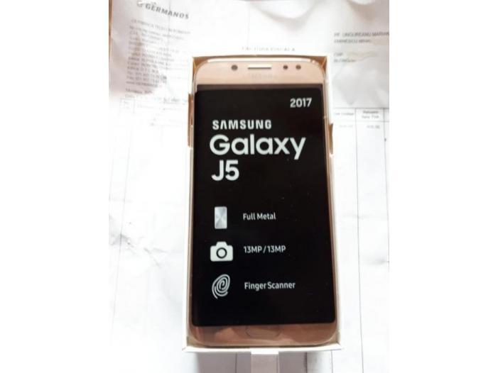Vând samsung galaxy j5 noi gold si blue nefolosite model 2017 - 2/3