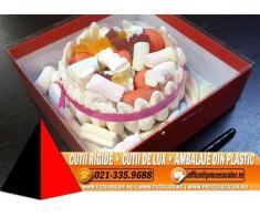Cutie de lux pentru tort, prajituri - Cutii Rigide