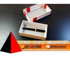 Cutie din carton de legatorie (mucava) - Cutii Rigide