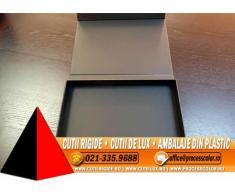 Cutii de lux cu magnet - Cutii Rigide