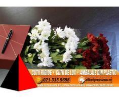 Cutii rigide de lux pentru ambalat flori - Cutii Rigide