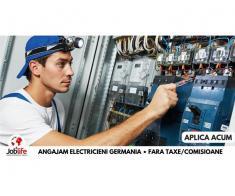 ELECTRICIENI - INSTALATORI GERMANIA