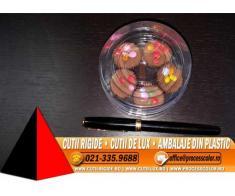 Ambalaje transparente pentru bomboane - Cutii Rigide