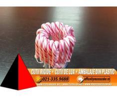 Ambalaje pentru acadele, lollipop, ciubuc - Cutii Rigide