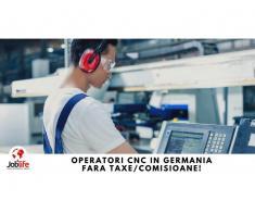 OPERATORI CNC in Germania