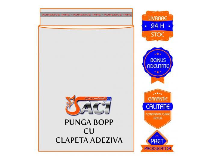 Producator Punga cu clapa pentru textile cu adeziv resigilabil / permanent - 2/2