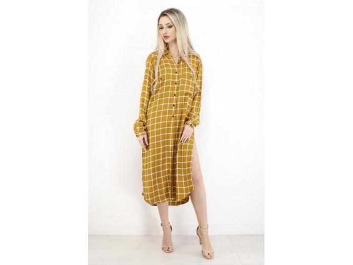 camasa dama mango yellow - 1/1