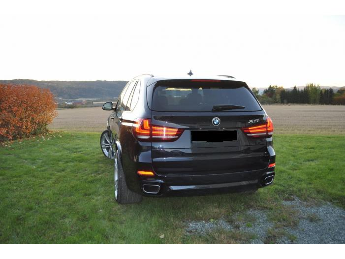 BMW X5 xDrive 3.0d M-Sport, Panorama, Head-up, 4-soner klima, Navi, Skinn 2014, 56846 - 1/5