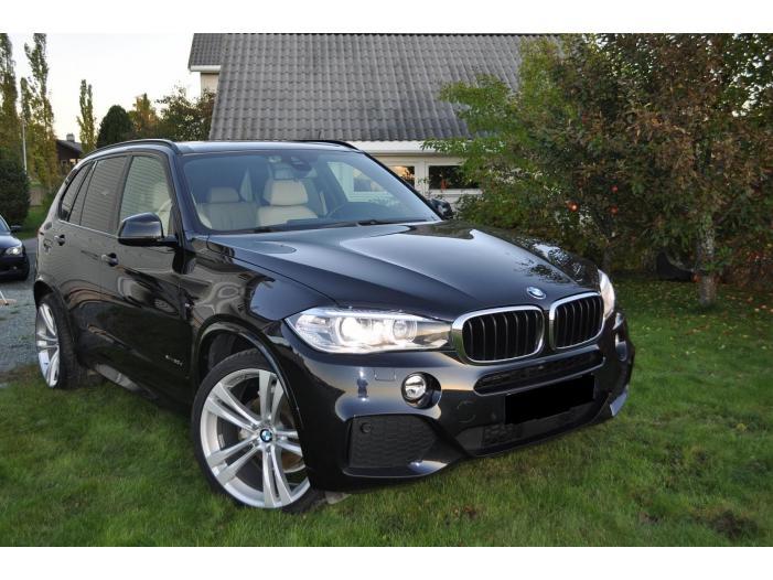 BMW X5 xDrive 3.0d M-Sport, Panorama, Head-up, 4-soner klima, Navi, Skinn 2014, 56846 - 3/5