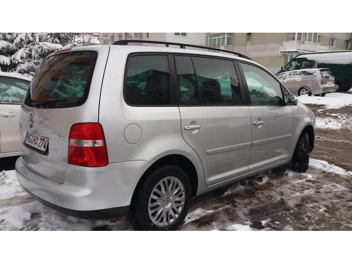VW TOURAN 1,9 TDI 105 CAI,, 232274 KM,,EURO 4-RAR Efectuat - 4/5