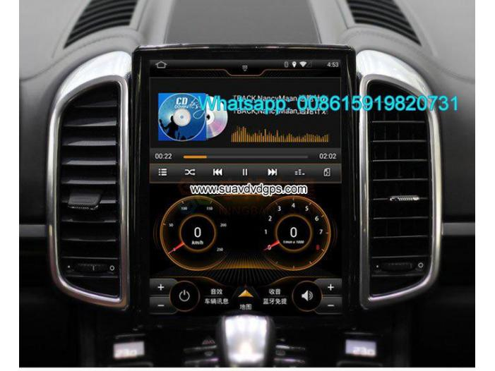 Porsche Cayenne 10.4inch radio Car GPS Vertical screen - 1/4