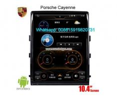 Porsche Cayenne 10.4inch radio Car GPS Vertical screen - Poza 2/4