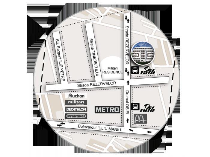 Apartament 2 camere, 49 mp, decom, Parter, Militari Auchan - 4/4