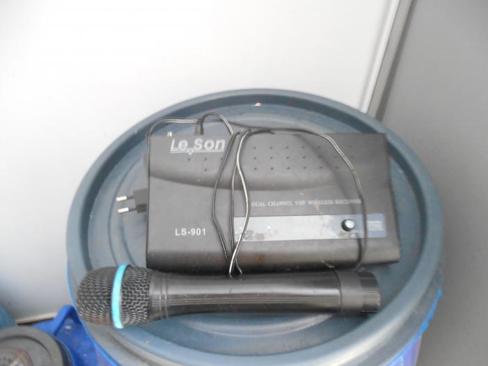 statie panasound cu microfon wirless - 5/5