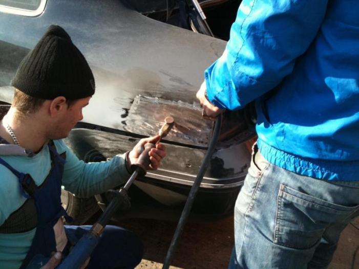 Tinichigerie auto in Constanta (Iulius Service) - 2/3