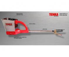 Pompa tencuit TENKA 3.11 - masina tencuit din inox - Poza 1/3