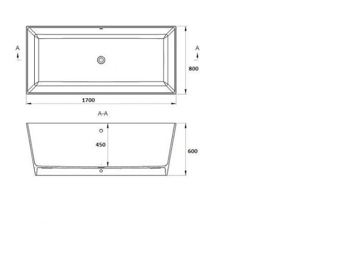 Cada baie compozit freestanding - 4/4