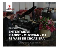 ENTERTAINER: PIANIST - MUZICIAN - DJ