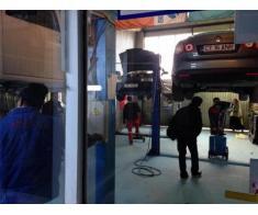 Sudura evacuari auto in Constanta. Iulius Service