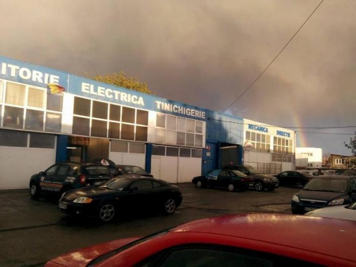 Sudura evacuari auto in Constanta. Iulius Service - 3/3