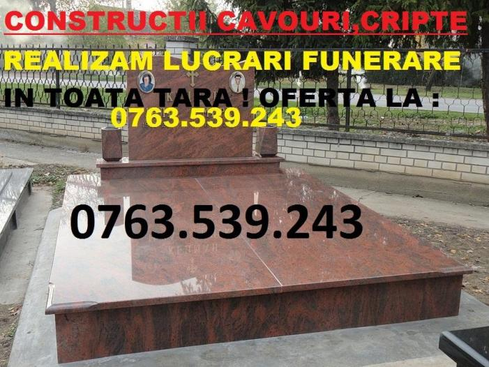 Cavouri Monumente Funerare Cruci Ploiesti Prahova - 1/5