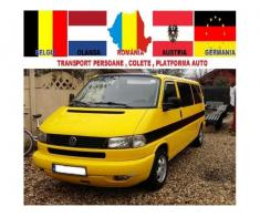 Transport Colete si Platforma Auto Romania Germania Austria Belgia Olanda