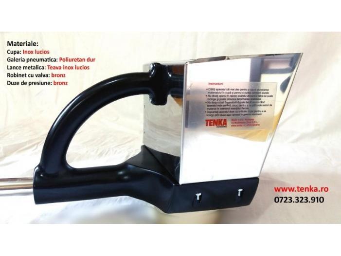 Pompa tencuit TENKA 3.11 - masina tencuit din inox - 2/3