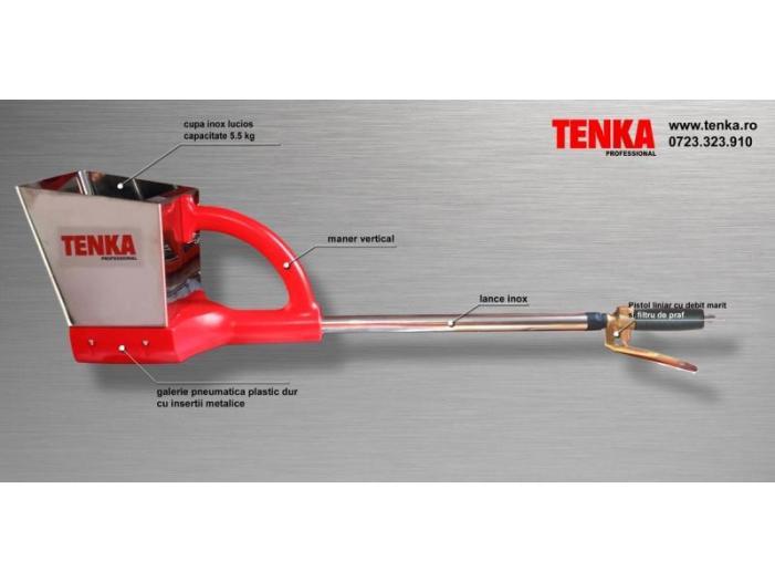 Masina tencuit profesionala - pistol tencuit TENKA - 1/3