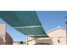 Plasa protectie - umbrire 2x50 metri, opacitate 90%, verde
