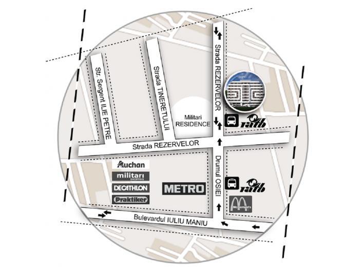 Apartament 2 camere, decom, 51mp, Chiajna Militari - 1/5