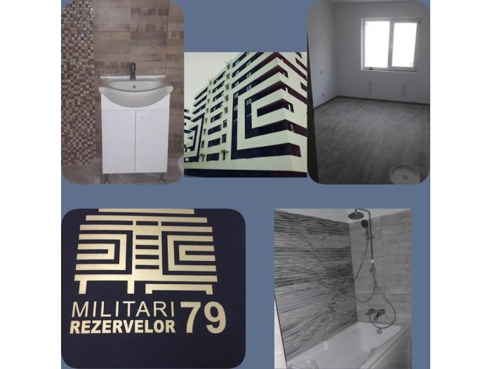 Apartament 2 camere, decom, 49mp, Militari Rezervelor - 1/5