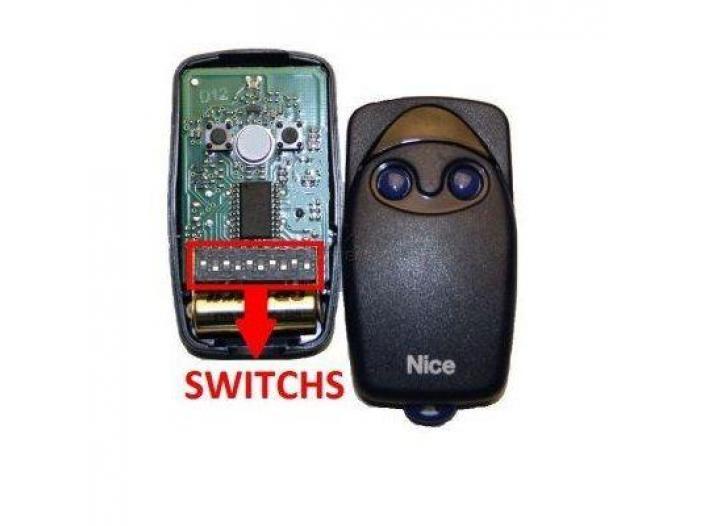 Telecomanda cu dip-switch Nice Flo2 - 1/1