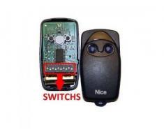 Telecomanda cu dip-switch Nice Flo2
