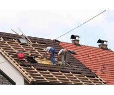 Montare tablă si tigla ceramica și reparații capitale la acoperișuri și