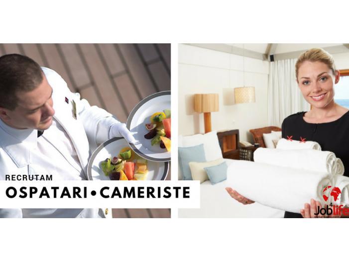 CAMERISTE/OSPATARI- Cazare masa transport gratis - 1/1