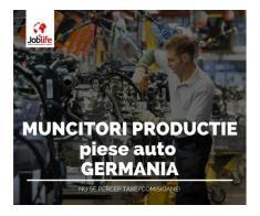 muncitori productie Germania - de la 1550 euro net + cazare gratuita