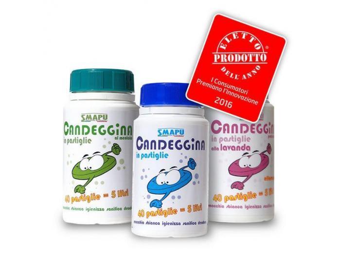 Inalbitor tablete cu mireasma de menta (Candeggina) - 3/5