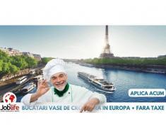 BUCATARI- Vase de croaziera 1500 euro (facilitati incluse)