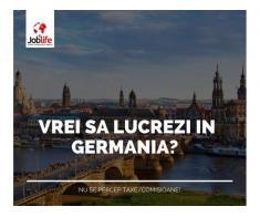 ELECTRICIENI - INSTALATORI GERMANIA de la 1700 euro net + cazare gratuita