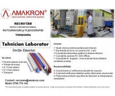 Tehnician Laborator - sectie cauciuc